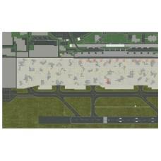 Airport ground sheet