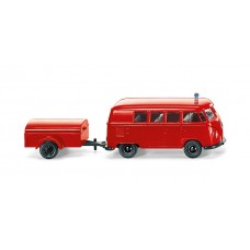 Fire Department VW T1 with Trailer