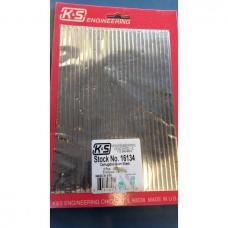 "Corrugated Aluminium Sheet 0.187"" Spacing"