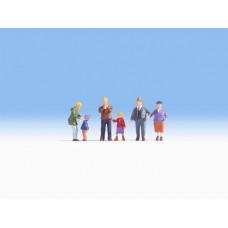 Family Meier In Wintertime