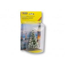Illuminated Christmas Tree - Snowy With LEDs