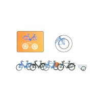 Bicycles & trailer