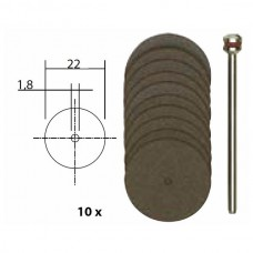 Cutting Disc 22mm with arbor (10)
