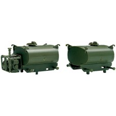 Portable fuel tank and pump unit