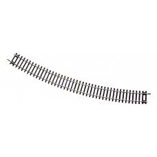 Curved track R6, 30°