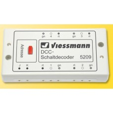 DCC-(NMRA) Switch decoder