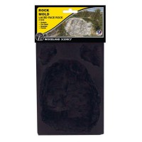 Laced Face Rock Mold